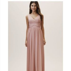 BHLDN Kia Bridesmaids dress in Whipped Apricott